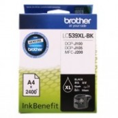 Brother LC-539XLBK Black Genuine Original Printer Ink Cartridge